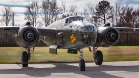 Wilder Bomber der Fracht-B-25 Stockbild