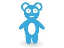Wilder Eisbär im Moskau-Zoo Lizenzfreie Stockfotos