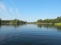 wilder jezioro Obrazy Royalty Free