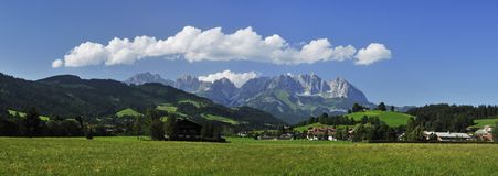 Wilder Kaiser in Austria Stock Images