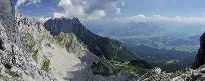 Wilder Kaiser in Austria Stock Image