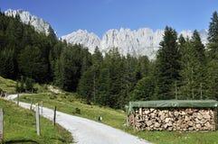 Wilder Kaiser in Austria Royalty Free Stock Images