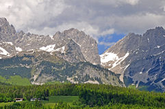 Wilder Kaiser, Austria Royalty Free Stock Photography