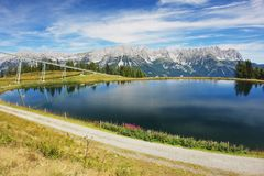 Wilder Kaiser, Austrian Alps Royalty Free Stock Images