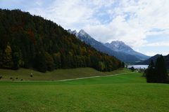 Wilder kaiser mountain in austria Stock Photography