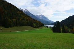 Wilder kaiser mountain in austria Stock Images