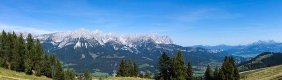 Wilder Kaiser, Tyrol, Austria Royalty Free Stock Photography