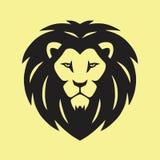 Wilder Lion Vector Icon Logo Stockbild