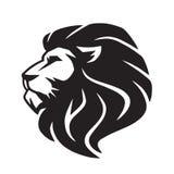 Wilder Lion Vector Icon Logo Template Lizenzfreies Stockbild