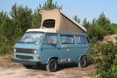 Wilder Packwagen des Campers Stockfotografie