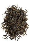Wilder schwarzer langkörniger Reis Stockfoto