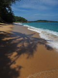 Wilder Strand in Phuket Stockfotos