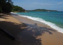 Wilder Strand in Phuket Lizenzfreies Stockfoto