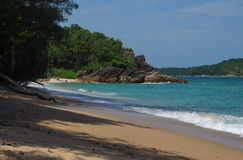 Wilder Strand in Phuket Stockfoto