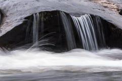 Wilder und szenischer Fluss Chattooga Stockfoto