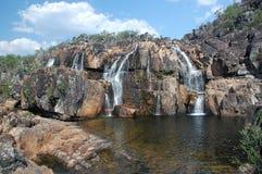 Wilder Wasserfall Lizenzfreies Stockbild