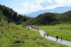Wilderer kaiser Berg in Österreich stockbilder