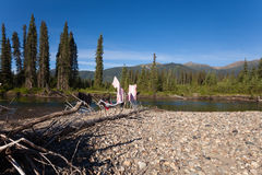 Free Wilderness Camping Stock Image - 16201371