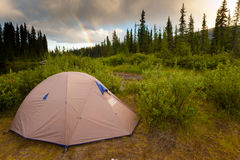 Wilderness Camping Concept Royalty Free Stock Photography