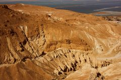 Wilderness of Judea from Israel Royalty Free Stock Photography