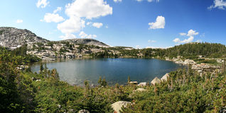 Wilderness lake Royalty Free Stock Photography