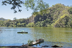 Wilderness lake in Colima Royalty Free Stock Photography