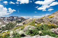 Wilderness Landscape in Colorado Rocky Mountains Stock Photo