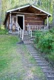 Wilderness Log Cabin Royalty Free Stock Image