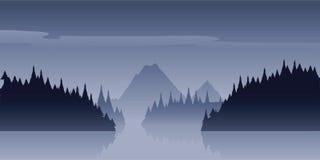 Wilderness Mist Royalty Free Stock Image