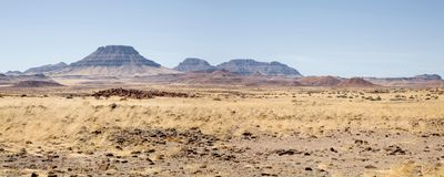 Wilderness in Namibia Stock Images