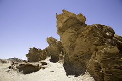 Wilderness in Namibia Royalty Free Stock Photography