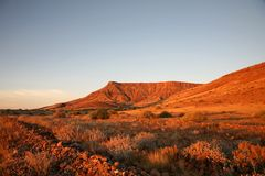 Wilderness in Namibia Stock Photos