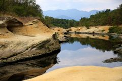 Wilderness, Nature Reserve, Water, Rock Stock Image