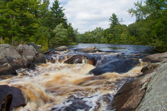 Wilderness Rapids Royalty Free Stock Photos
