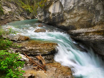 Wilderness River Waterfall canyon Royalty Free Stock Images
