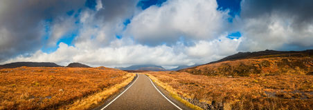 Wilderness road, Scotland Stock Photography