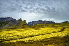 Wilderness in Vatnajökull National Park at South part of Iceland, summer time stock photos