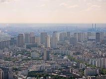 Wildernis van huizen in Parijs Stock Afbeelding