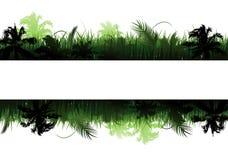 Wildernis vectorlandschap stock illustratie