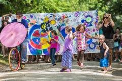 Wildes Gans-Festival Stockfotos
