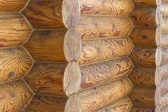 Wildes Holzhaus Stockfoto