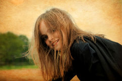 Wildes Mädchen Lizenzfreie Stockfotos