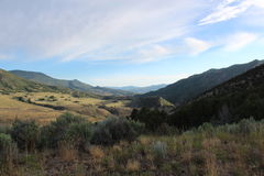 Wildes und schönes Idaho-Tal lizenzfreie stockbilder