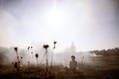 wildfire пожар Глобальное потепление, экологическая катастрофа Conce Стоковые Фотографии RF