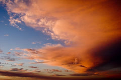 Wildfire clouds. Wildfires of southern California 2005 Stock Photography