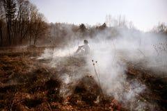 wildfire Feuer Globale Erwärmung, Klimakatastrophe Conce stockfotografie