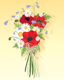 Wildflower bouquet Royalty Free Stock Photos