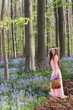 Wildflower zrywanie fotografia stock