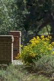 Wildflowers και Pilars Στοκ φωτογραφία με δικαίωμα ελεύθερης χρήσης