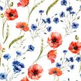 wildflowers illustrazione di stock
